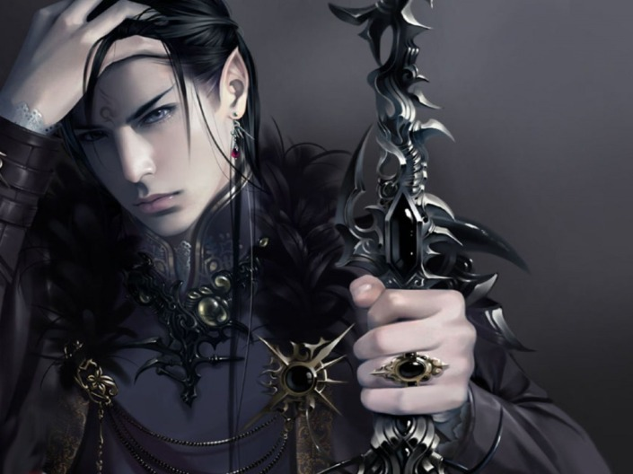elf lord, fantasy, dark fantasy, elf, fairy, clothes, darkness