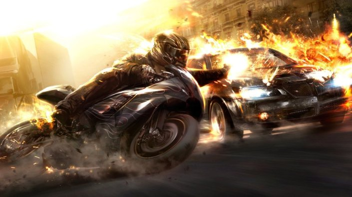motorcycle, car, speed, fast, action, action story, fire, action scene, action writing