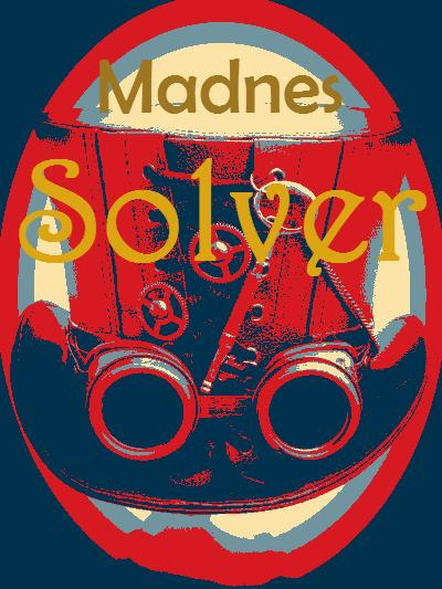 Madnes Solver, E E Rawls, wonderland, fantasy author, madness solver