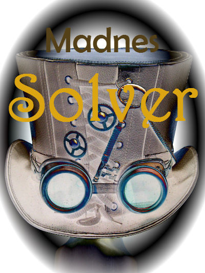 Madnes Solver, madness solver, mad hatter, wonderland, adventure, mystery series, books, reading, follow blog, serial series,
