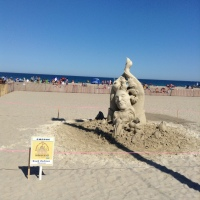 Hampton Beach, Sand Sculpture Event!