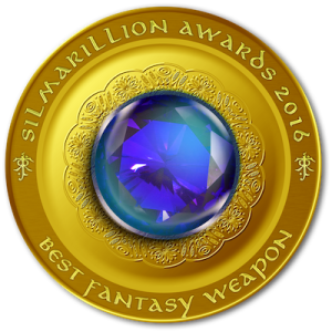 Silmaril, Silmarillion Awards, Best Fantasy Weapon, award, book award, LOTR, Arwen, elf princess, elves, Lord of the Rings, Fellowship of the Ring, Jenelle Schmidt, DJ Edwardson, Zachary Totah, Deborah O'Carroll, Rawls E Fantasy, E E Rawls, E Rawls, Elise, booklove, mustread, fantasyread, fantasy, vote, favorite book, awards, summer read,