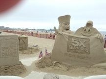 sand, sculptures, art, contest, summer fun, June 2017, books, writing, reading, book nerd, author blog,