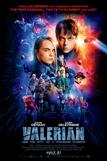 Valerian and the city of a thousand planets, dane dehaan, cara delevingne, summer movie, fun, movies, what to watch, scifi, science fiction, comic series,