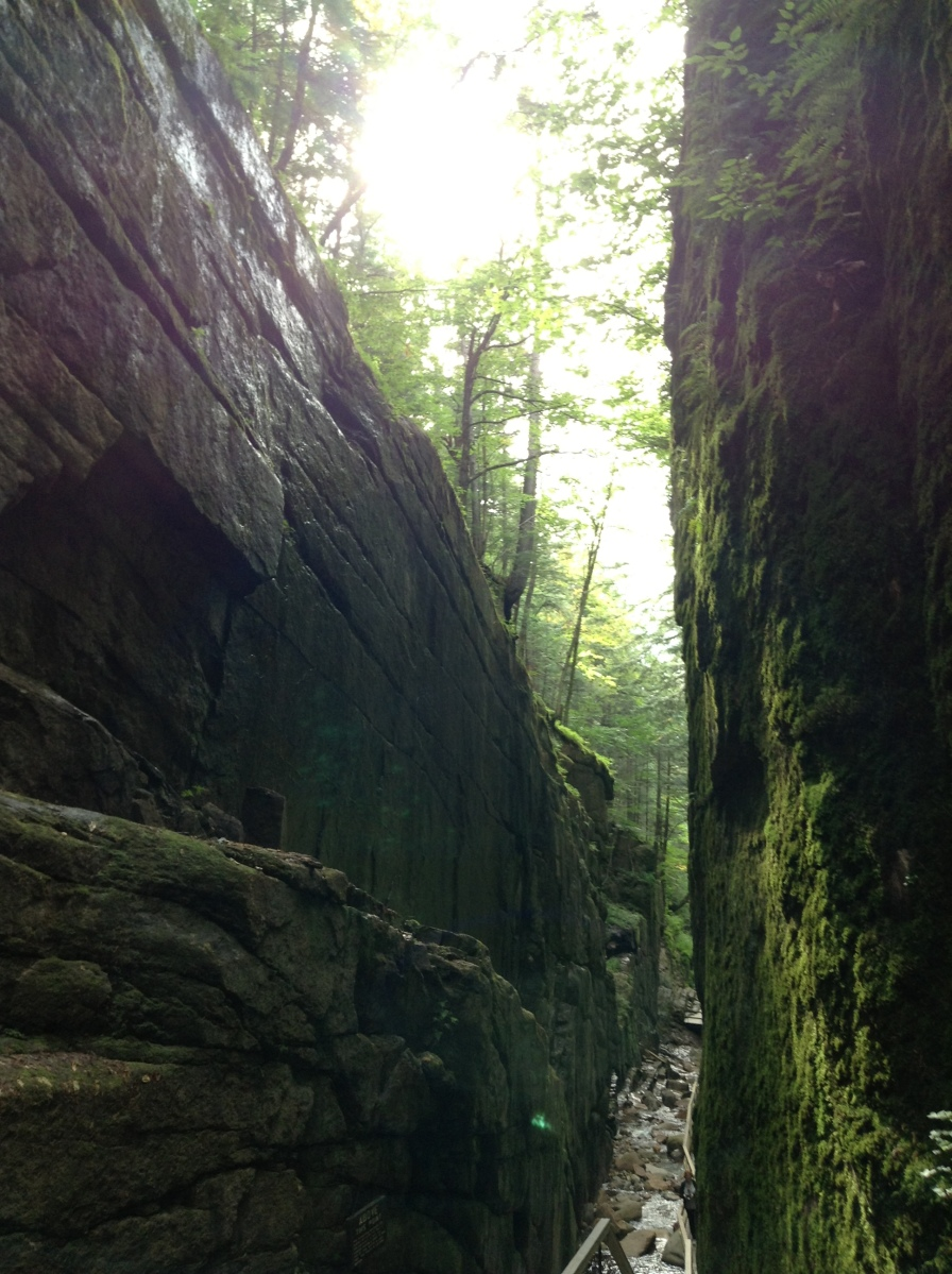 Journey Into Flume Gorge