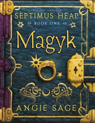 septimus heap, Magyk, angie sage, books, middle grade books, goodreads,