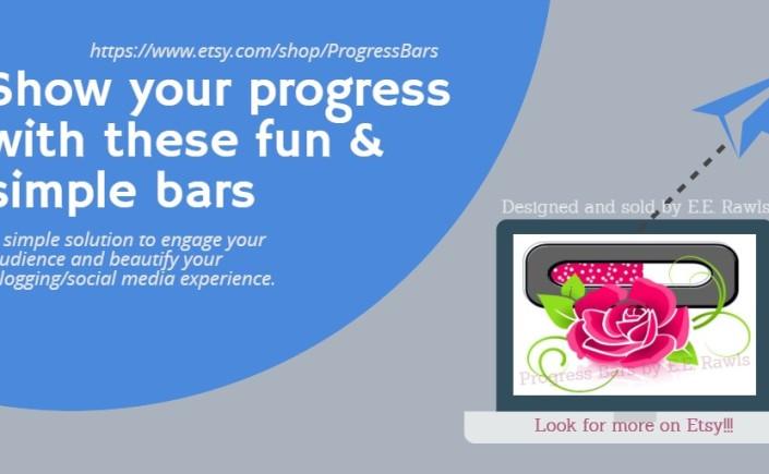 progress bars, am writing, writer tool, blogger, blog tool, writing progress, book progress, author blog, reading progress, books,