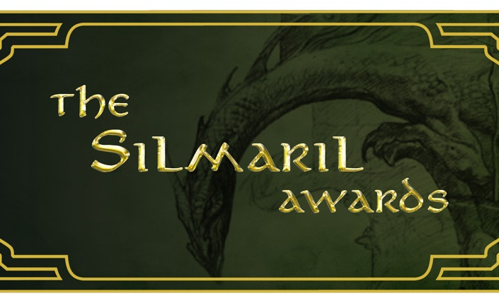 Silmaril awards, the Silmarillion, book awards, character awards, fantasy characters awards, character nominations, book nominations, dragon, green, gold, awards banner, most epic hero, epic hero award, epic character,