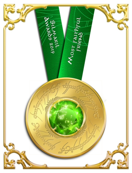 most faithful friend silmaril award, the silmaril awards, Tolkien awards, fantasy character awards, annual character awards,