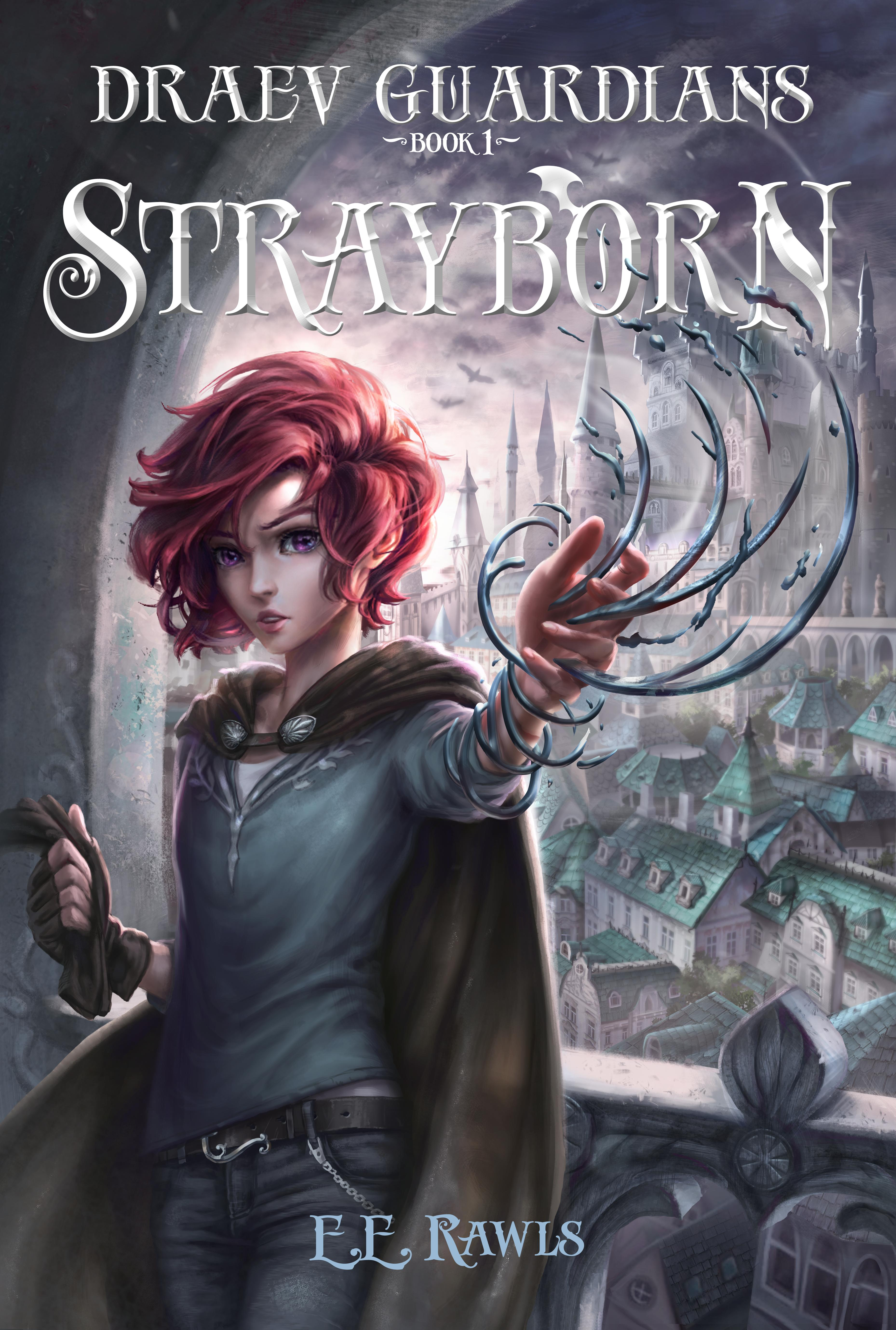 Strayborn, Draev Guardians, new fantasy books for teens, new fantasy books for kids, new fall books 2019, books with elemental powers, books with female and male protagonist, christian epic fantasy series, christian fantasy for teens, author E.E. Rawls,