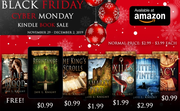 author Jaye L. Knight, Resistance audiobook blog tour, Ilyon Chronicles series, how to audio book, new book releases 2019, new books for the holidays, black friday sale, cyber monday book sale,