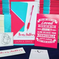 Cover Reveal, Dear Author: Letters from a Bookish Fangirl
