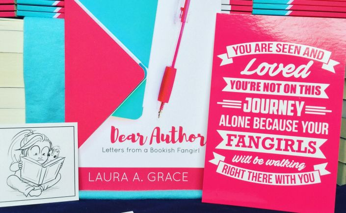 Dear author: letters from a bookish fangirl, Laura A. Grace, Unicorn Quester, bookish fans, book nerd, book love, Christian fiction authors,