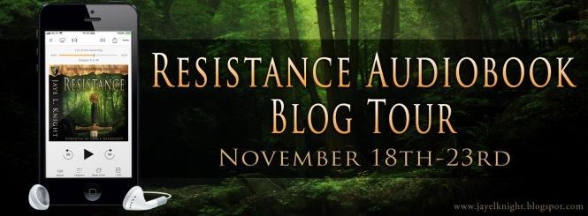 author Jaye L. Knight, Resistance audiobook blog tour, Ilyon Chronicles series, how to audio book, new book releases 2019, new books for the holidays,