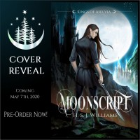 Cover Reveal: H.S.J. Williams new book Moonscript!
