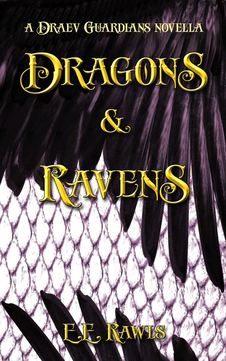 Dragons and Ravens, Draev Guardians, Strayborn books, author E.E. Rawls, new fantasy books, fantasy novellas, fairy tale novellas, fairy tale retellings, dragon books, raven books, fantasy vampire books, fantasy gothic books, middle grade gothic books, kids gothic books, kids fantasy adventure books,