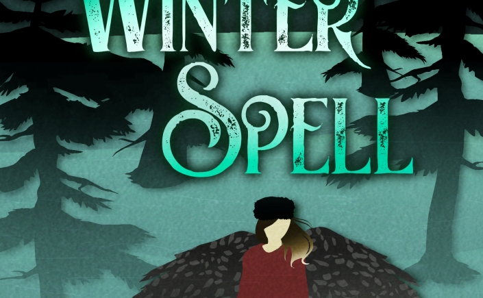 Winter Spell book, author Claire M. Banschbach, author C.M. Banschbach, new fantasy books, the faeries of myrnius, new books for teens, new books for kids, new young adult books, book cover art, books with fae, books with faeries, winter theme books,